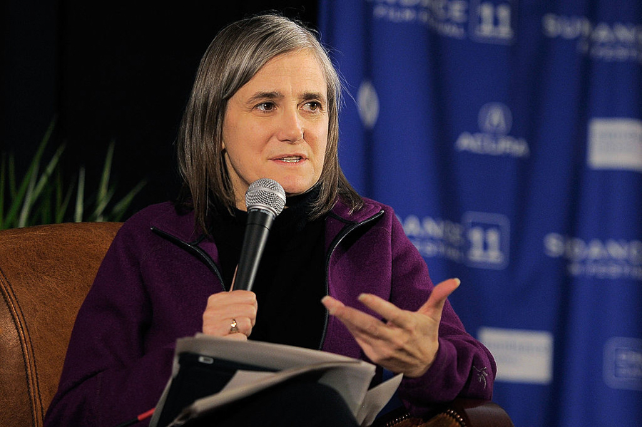 Amy Goodman discusses her experiences as a journalist at Women & Children First on Sat 5/6.