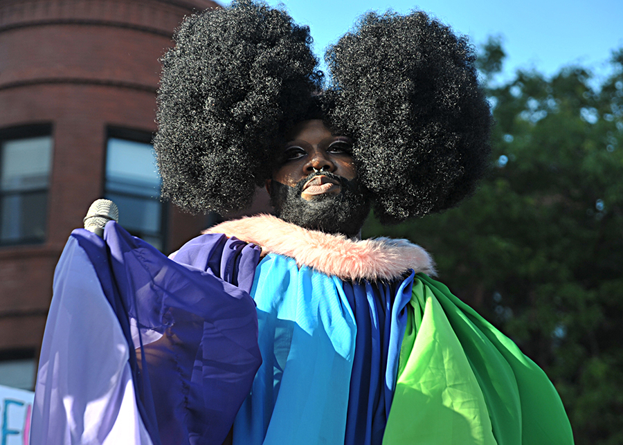 Lucy Stoole, co-chair of the Black Drag Council