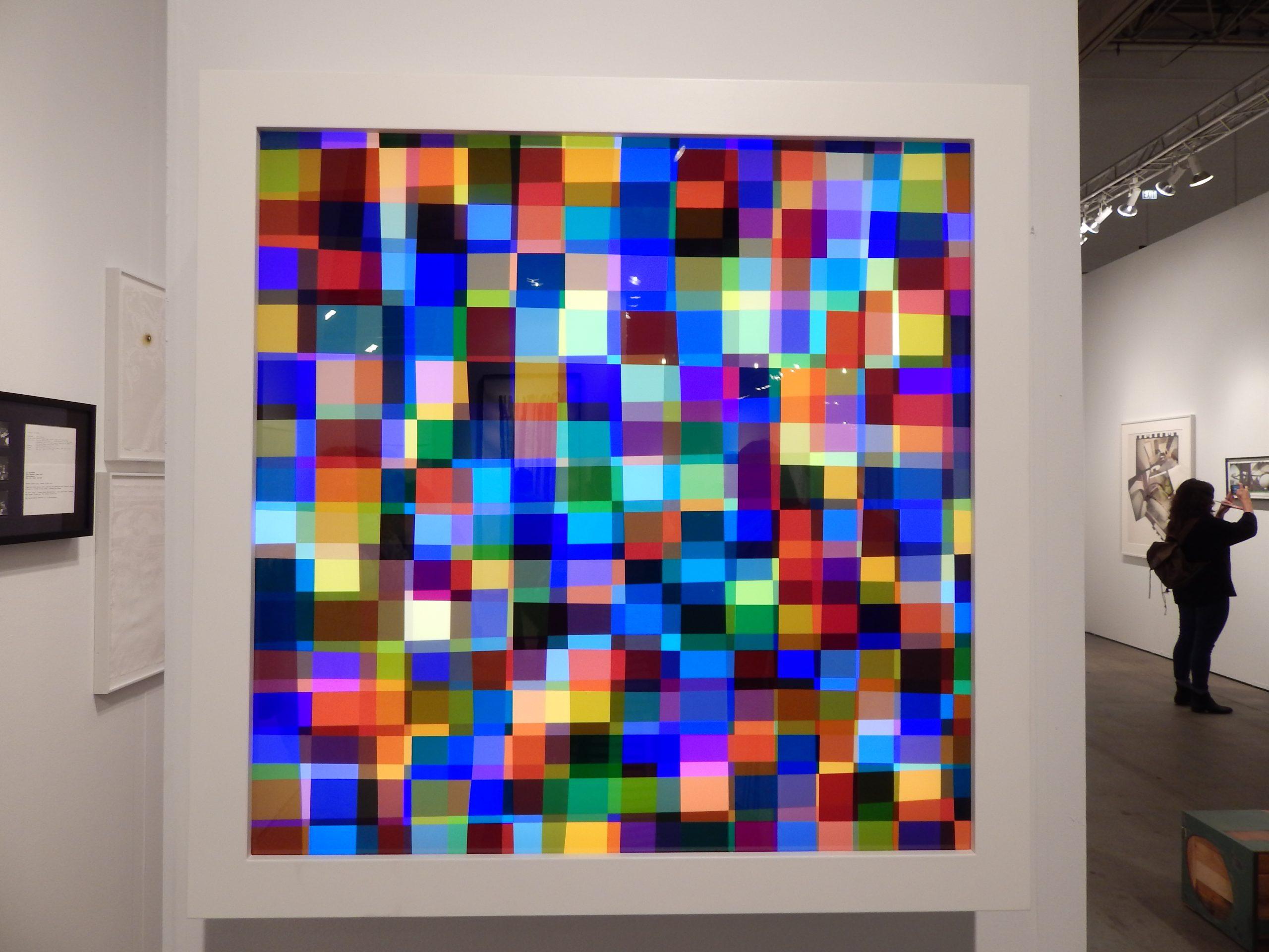 Spencer Finch's<i> Color Test (876)</i>