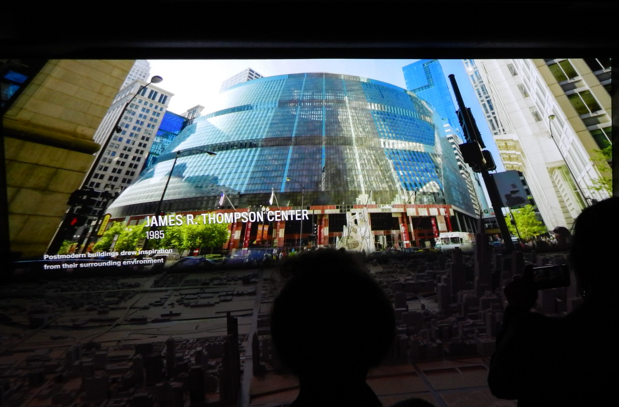 CAC's Chicago architecture film includes the endangered Thompson Center.
