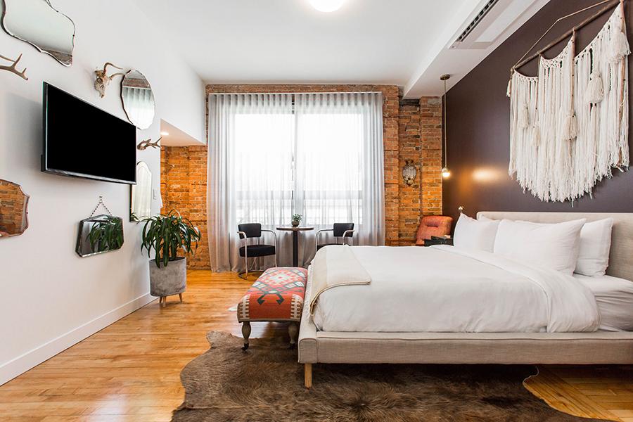 The Dybek guest room