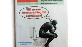 The <i>Thinker</i> may be on the cover, but how much thinking did the <i>Economist</i> really do?