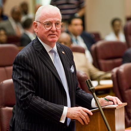 City Council dean Ed Burke, a former police officer