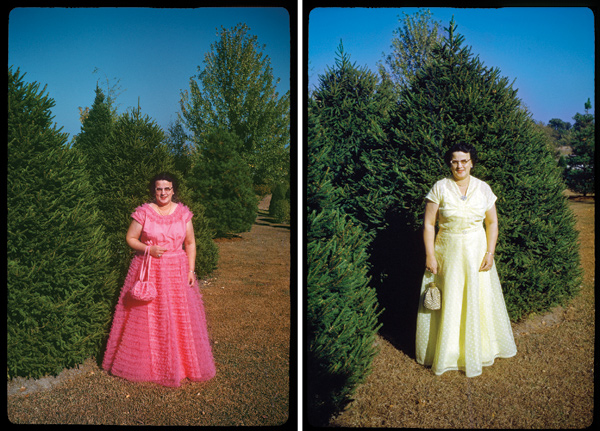 Jeff Phillips first saw these two photos of Edna while he was at an antique mall outside Saint Louis.