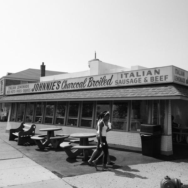 <em>Johnnie's Beef.</em> Summer. By Edward Anderson, 34, musician, Logan Square