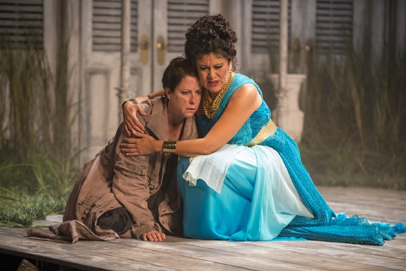 Court Theater's tragedy <i>Electra</i> closes this weekend.