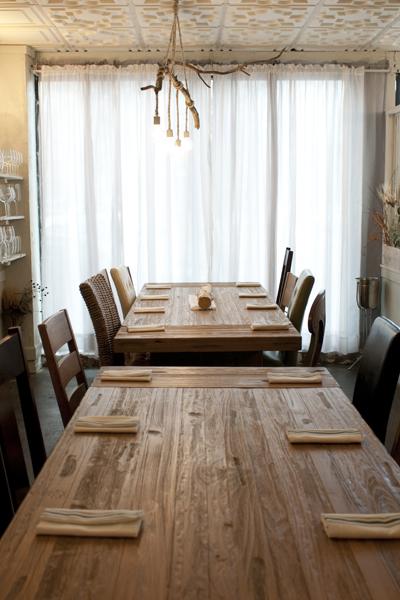 Elizabeth's dining room has a distinct fairy tale vibe.