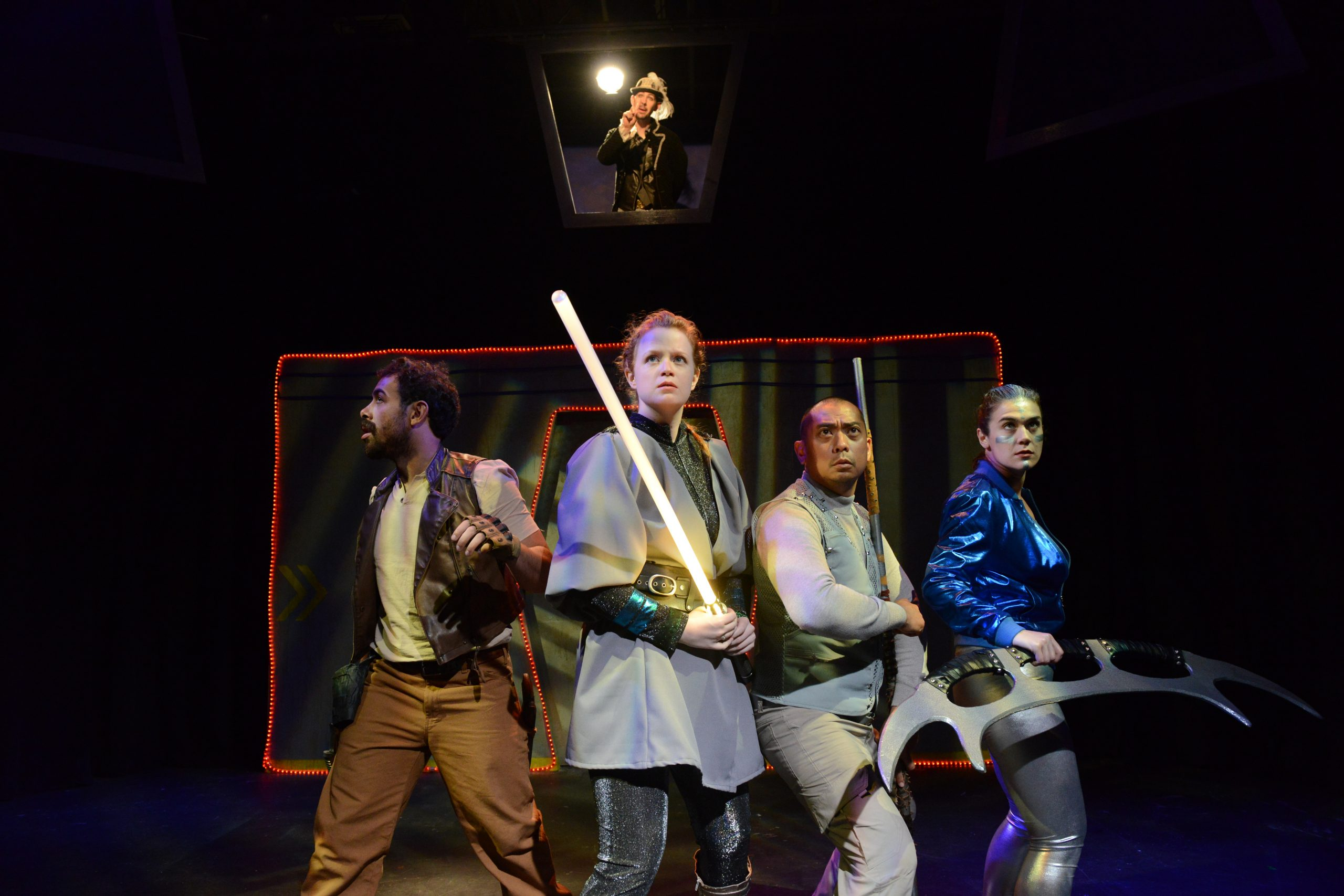 <i>Engage! A Choose-Your-Own Sci-Fight Show</i>, at Theater Wit