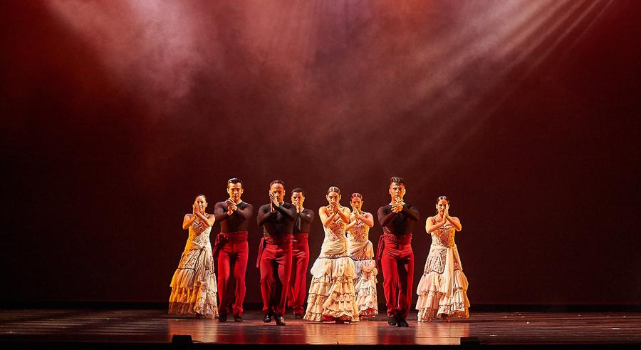 Ensemble Español performs Flamenco Passion on Thu 9/29.