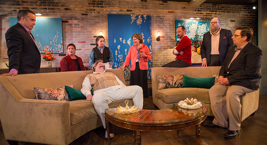 A Red Orchid Theatre's <i>Evening at the Talk House</i>