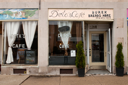 This inviting storefront was a portal to the kind of gathering place Deta knew in her former, war-torn home.