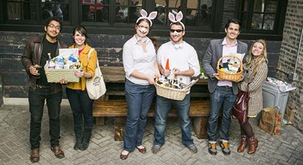 Longman & Eagle hosts an Adult Easter Egg Hunt on Sun 3/27.