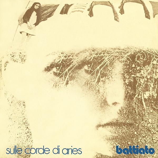 The cover of Franco Battiato's <i>Sulle Corde di Aries</i>