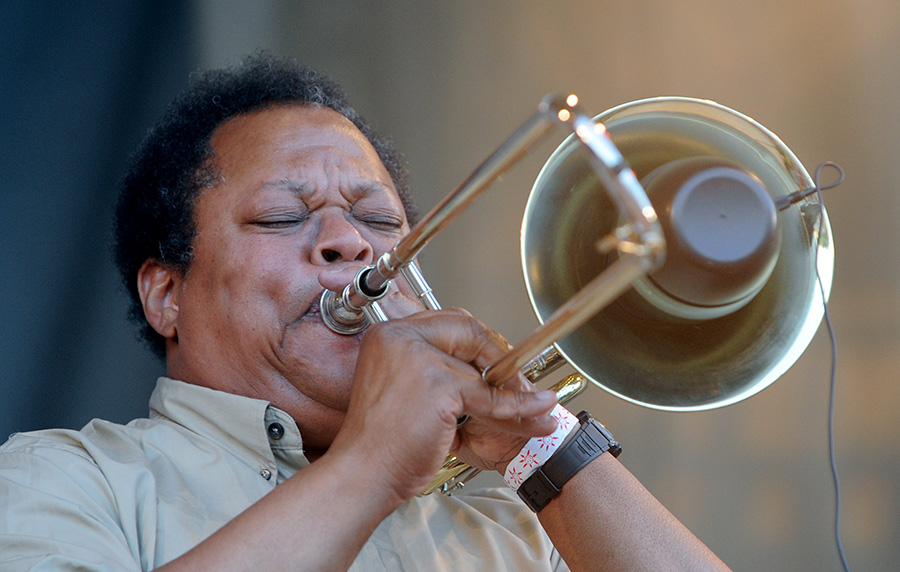 Composer, trombonist, and early AACM member George Lewis