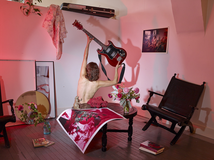 <i>Photographic Composition with Mia's Guitar</i>, 2016