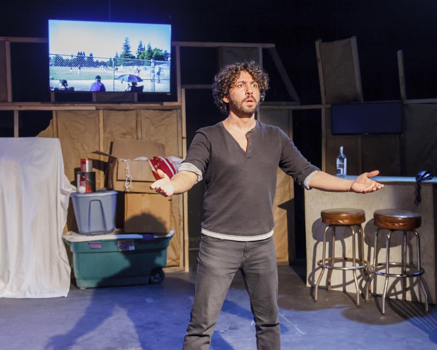 Alberto Mendoza in Broad Shoulders Productions' <i>Graham Cracker</i>
