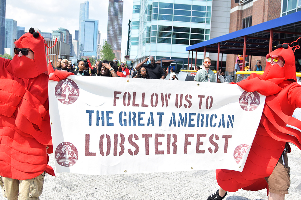 Only the fanciest of (non-kosher) dining options are available at the Great American Lobster Fest beginning Friday, 9/1.