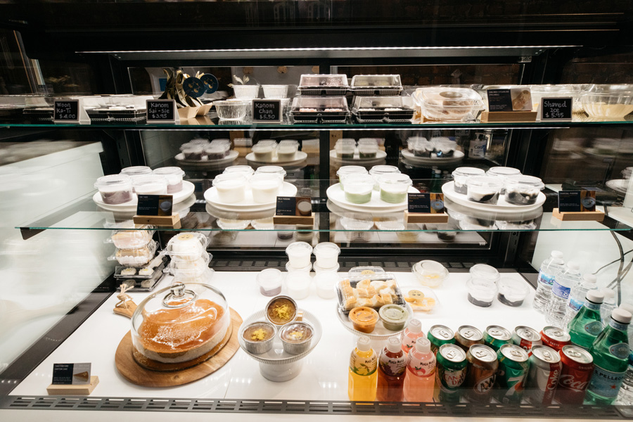 Many of Habrae Cafe's sweets are debuting in the midwest for the first time.