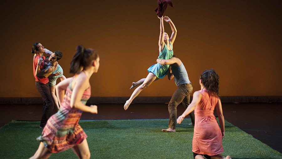 Hedwig Dances presents <i>Of Time and Tide</i> at the Ruth Page Center for the Arts.