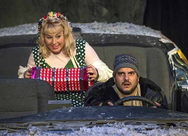 Irene Currie and Zlatomir Moldovanski in Profiles' <i>Hellcab</i>