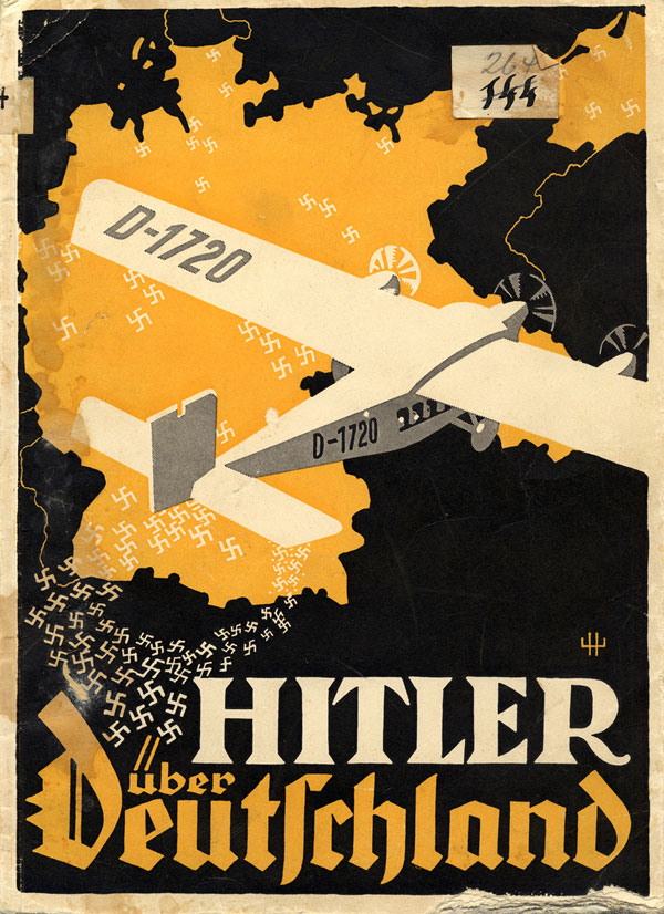 """The Nazi Party pamphlet """"Hitler Over Germany,"""" made for Hitler's 1932 presidential campaign"""