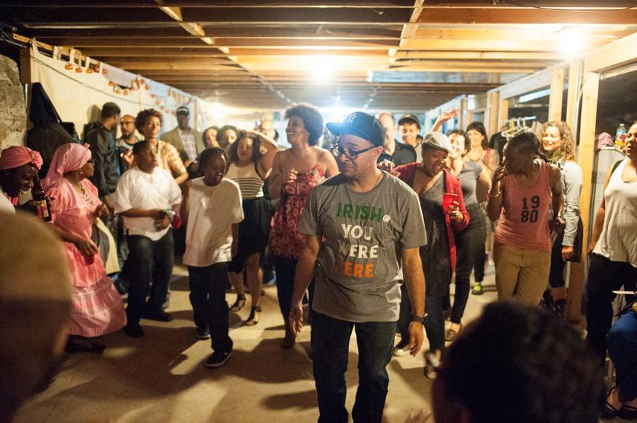 Artists and activists open up their homes for the Chicago Home Theater Festival.