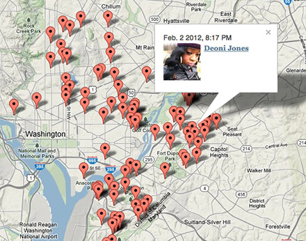 """""""We didn't create Homicide Watch to be innovative. We did it because communities are underserved. The outcome is a new kind of crime journalism."""" —Laura Amico, cofounder of the D.C.-based web site"""