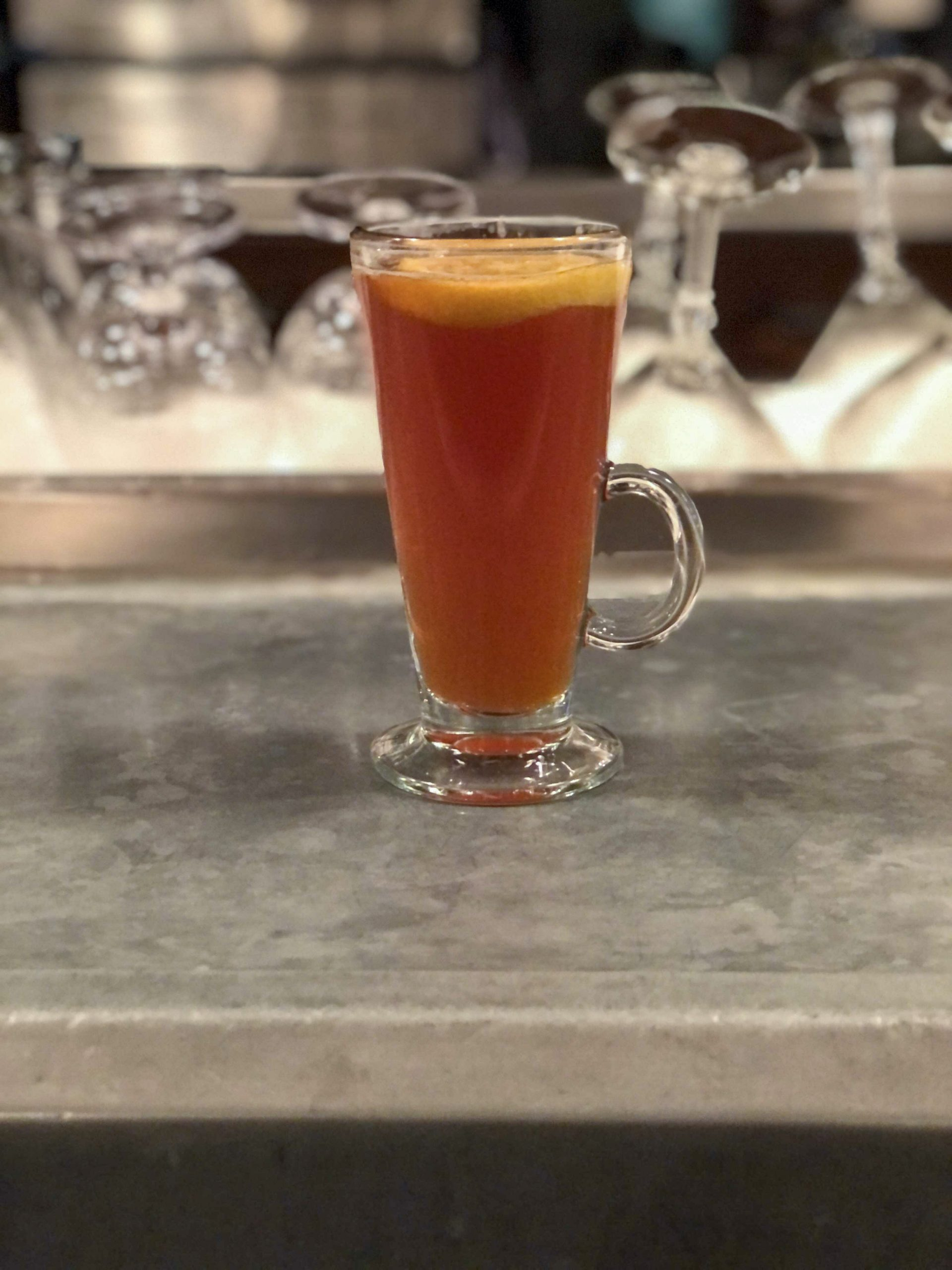 Once your bar is stocked, warm up with a homemade hot toddy.