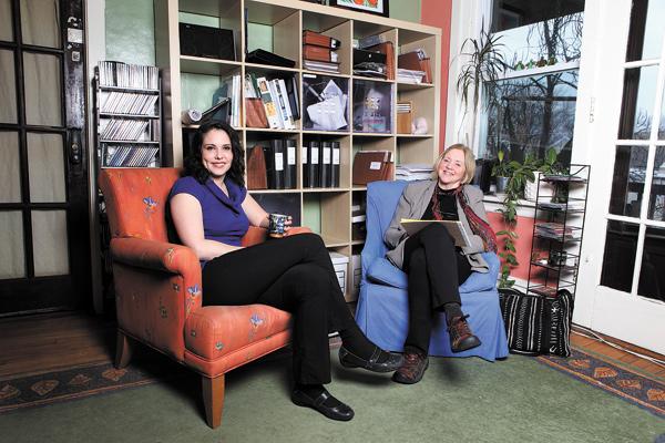 Luli Buxton and Ingrid Christiansen
