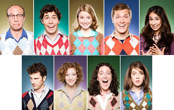 Left to right: Adam Lustick, Chris Smith, Sara Taylor, Clayton Early, Rebecca Delgado Smith, Billy Scafuri, Faryn Einhorn, Jen Curran, Katie Larsen