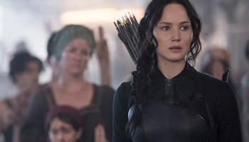 Jennifer Lawrence in <i>The Hunger Games: Mockingjay—Part 1</i>