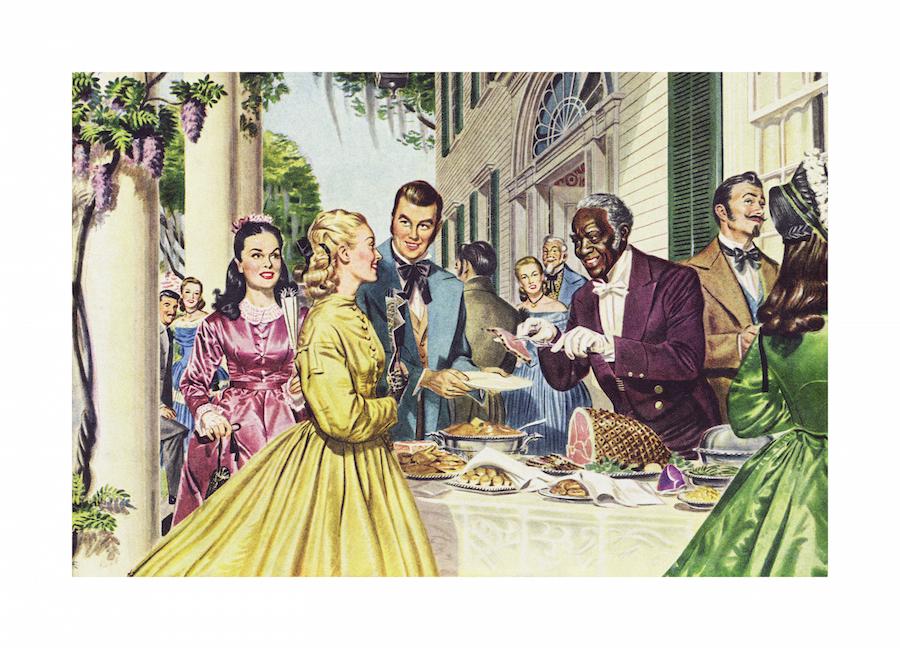 Hank Willis Thomas, <em>Hospitality Is Quickly Recognized</em> 1949/2015
