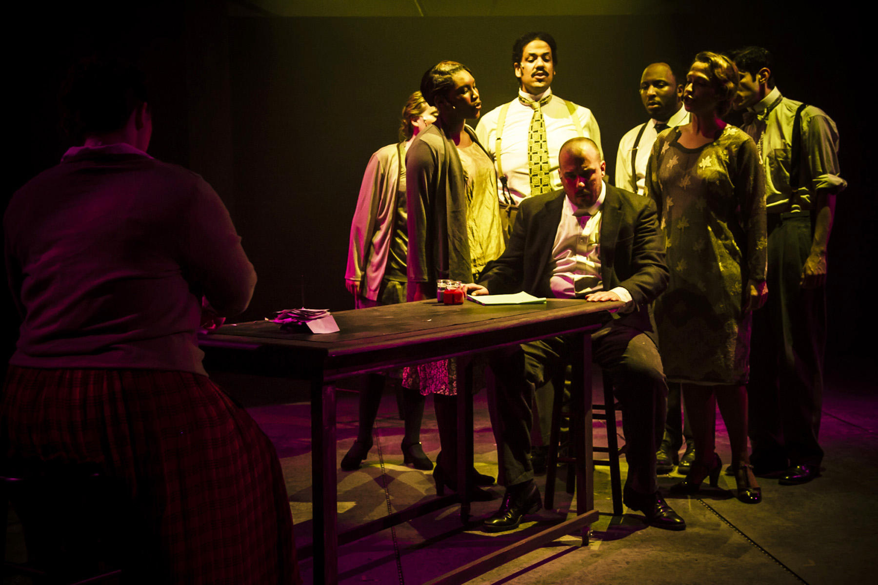 From the Hypocrites' production of <i>Adding Machine</i>, which ran this past spring