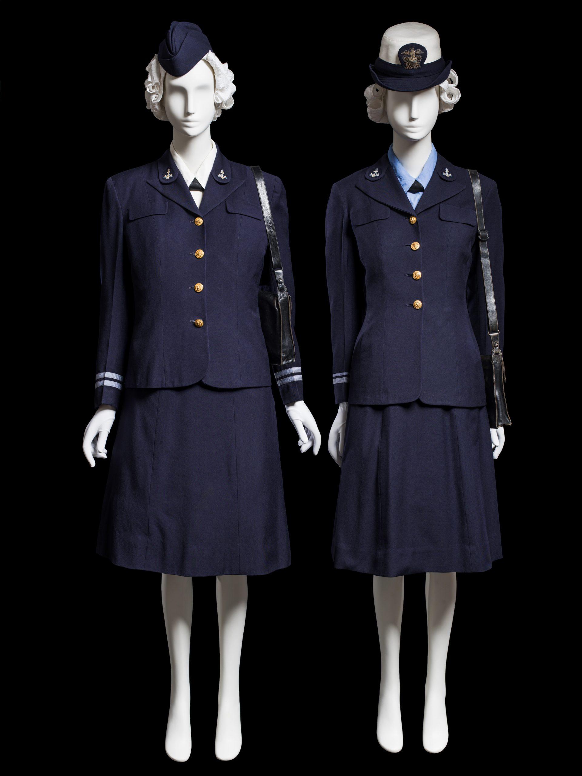 WAVES uniform, United States Naval Reserve, c. 1942