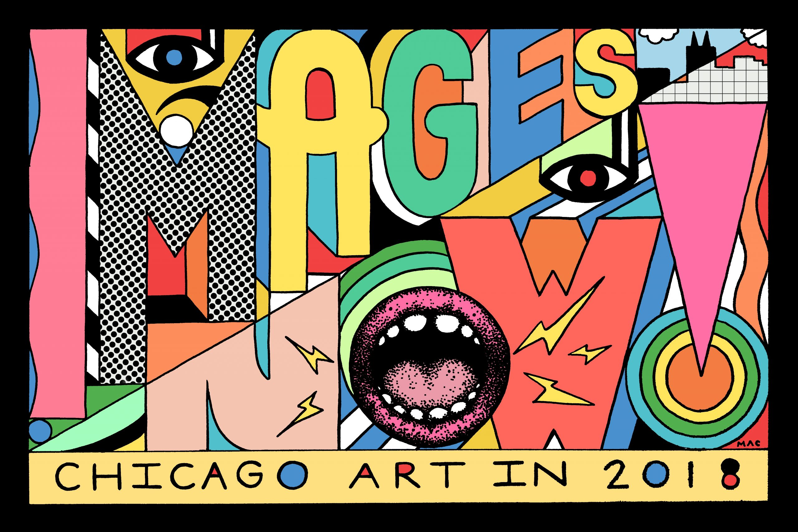 """The group exhibit """"Images Now! Chicago Artist Showcase"""" features work by 11 artists."""