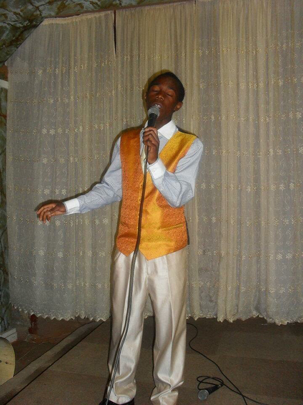 Bugumba makes his church-choir debut in 2011, shortly before his family came to the United States.
