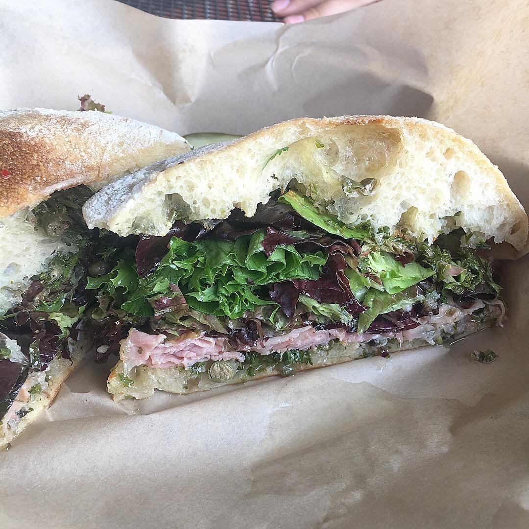 Porchetta sandwich, Raduno, Traverse City, MI