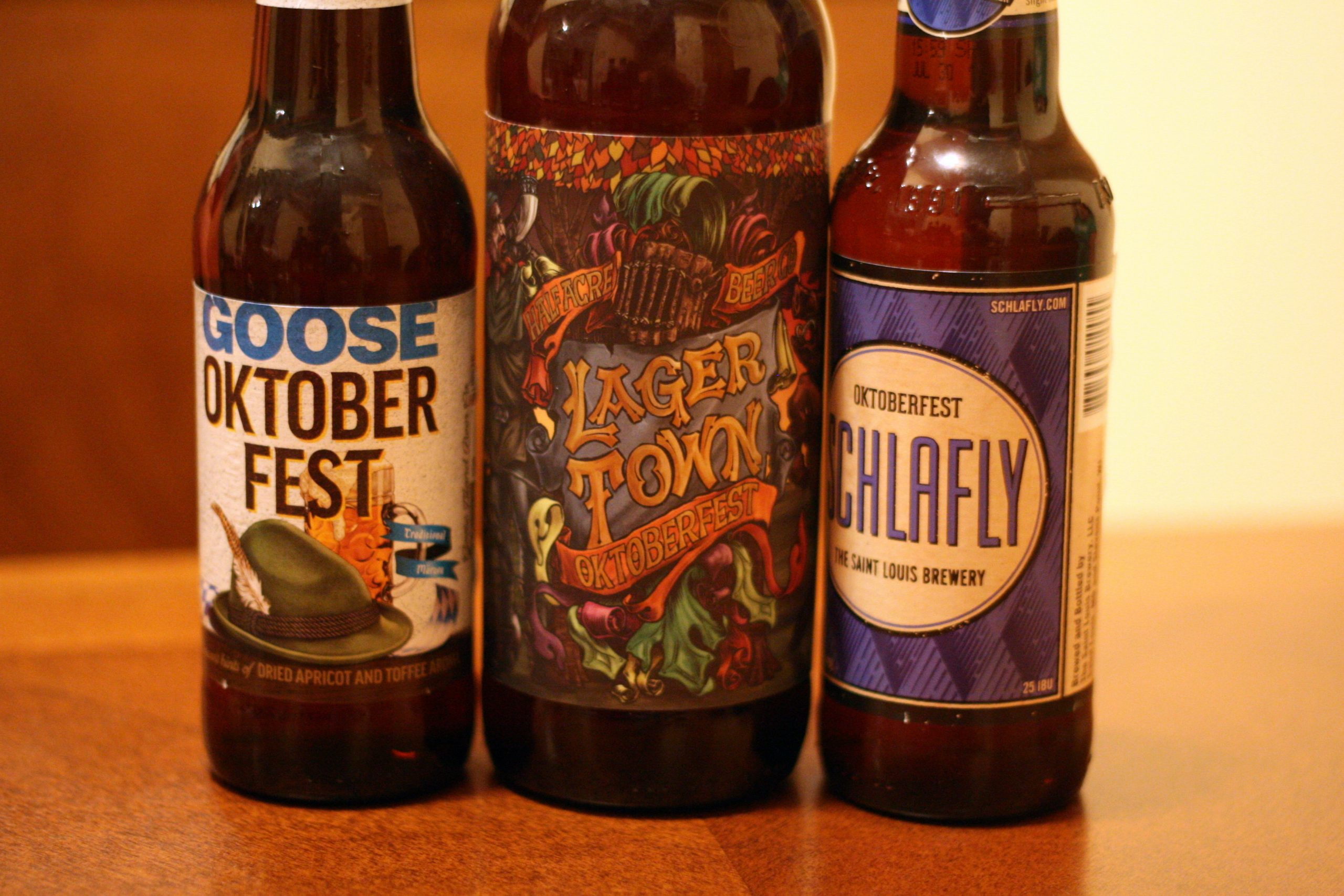The late arrivals: Goose Island, Half Acre, and Schlafly