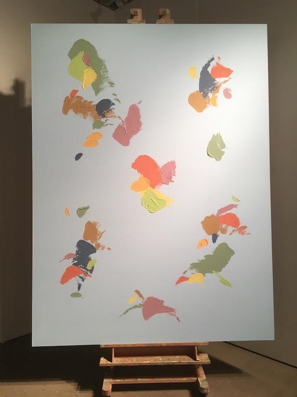Amanda Ross-Ho, <i>Untitled Painting (World Map #5)</i>, 2016