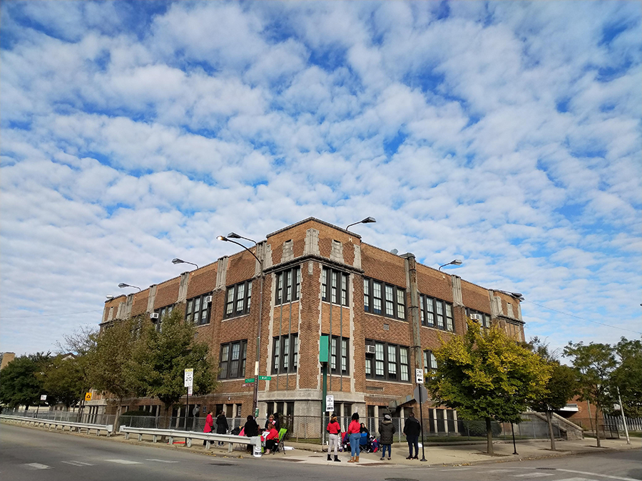 Bond Elementary School in Englewood is struggling with a staff shortage and overcrowded classrooms.