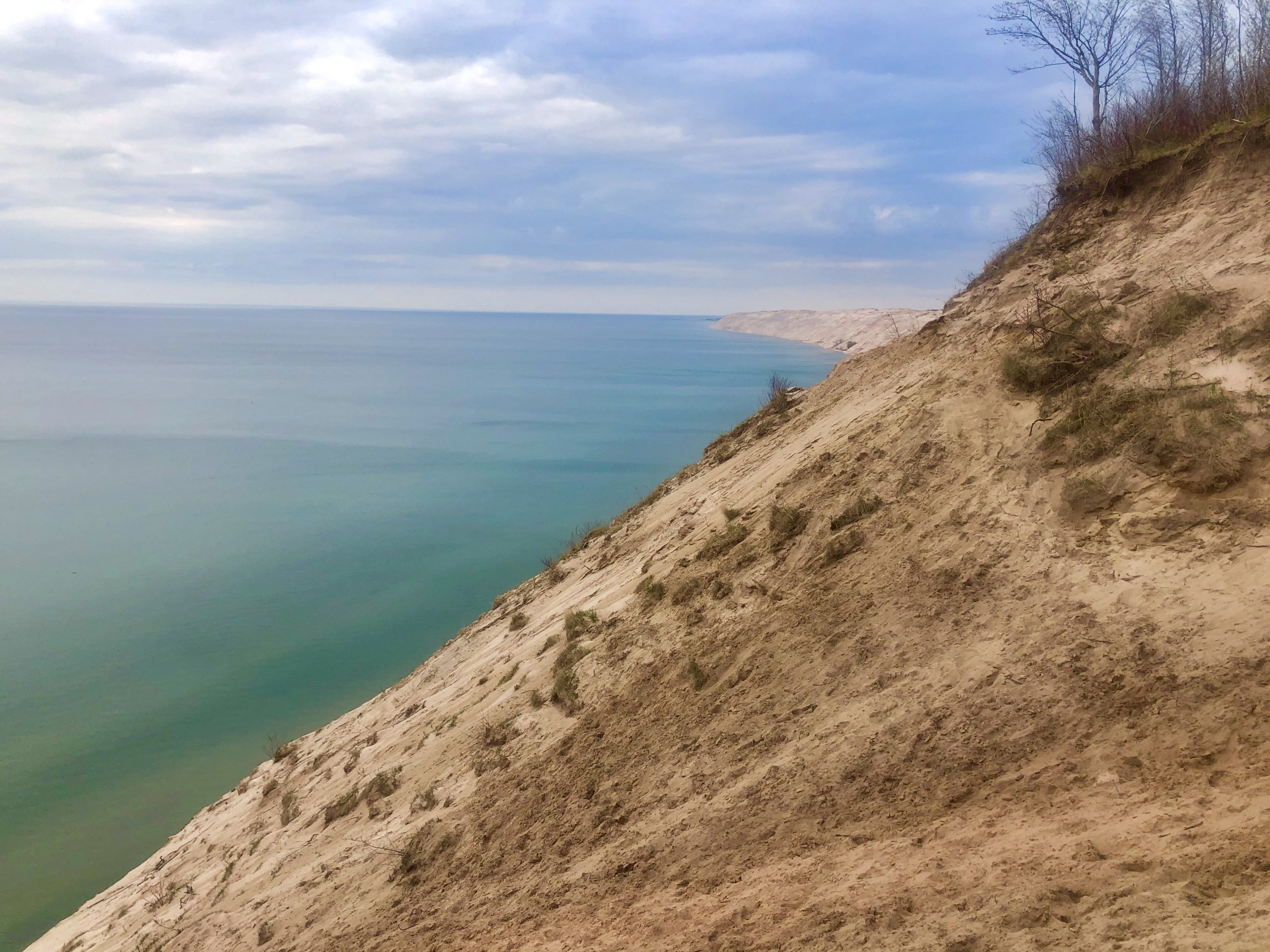 Lake Michigan never looked so gorgeous as it does from the Nordhouse Dunes.
