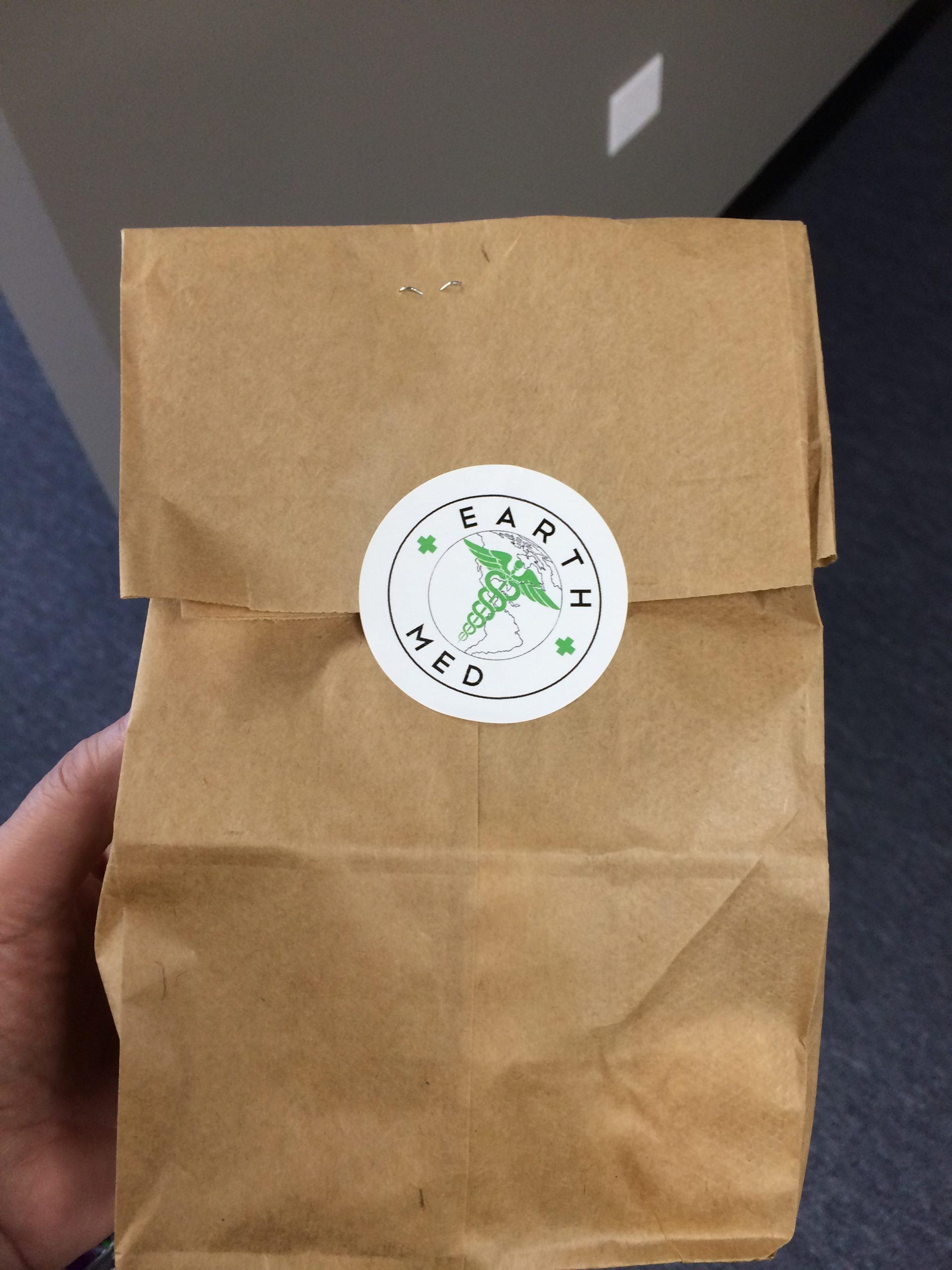 A not so little green bag from EarthMed