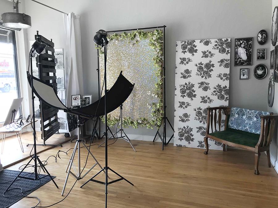 Jensen's portrait studio