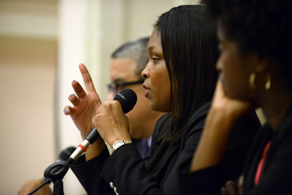 CPS chief education officer Janice Jackson explains LaRaviere's removal. Sort of.