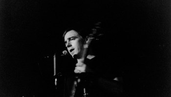 Jason Molina performs at the John Waldron Arts Center in Bloomington, Indiana, circa 2000.