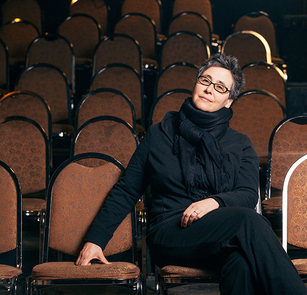 """Jenny Magnus at Prop Thtr. """"She sits down in the audience and you're immediately on notice,"""" says Allison Shoemaker, who's directing Magnus's The Strange."""