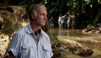 Filmmaker John Sayles reads at the Festival.
