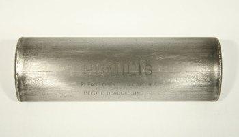 "Stephen Kaltenbach, <i>Humilis</i>, Burnished Steel & Unknown Contents, Unique Time Capsule, 4 x 4 x 12"", 1970 - Present"