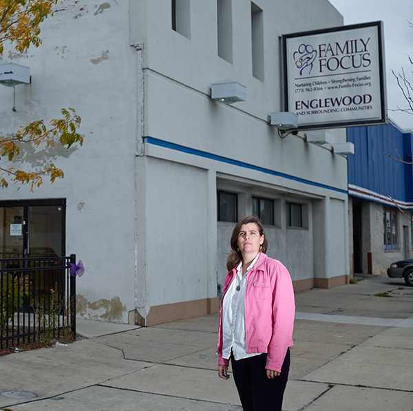Kate Goetz, the Chicago Safe Start therapist who counseled Coney and her children