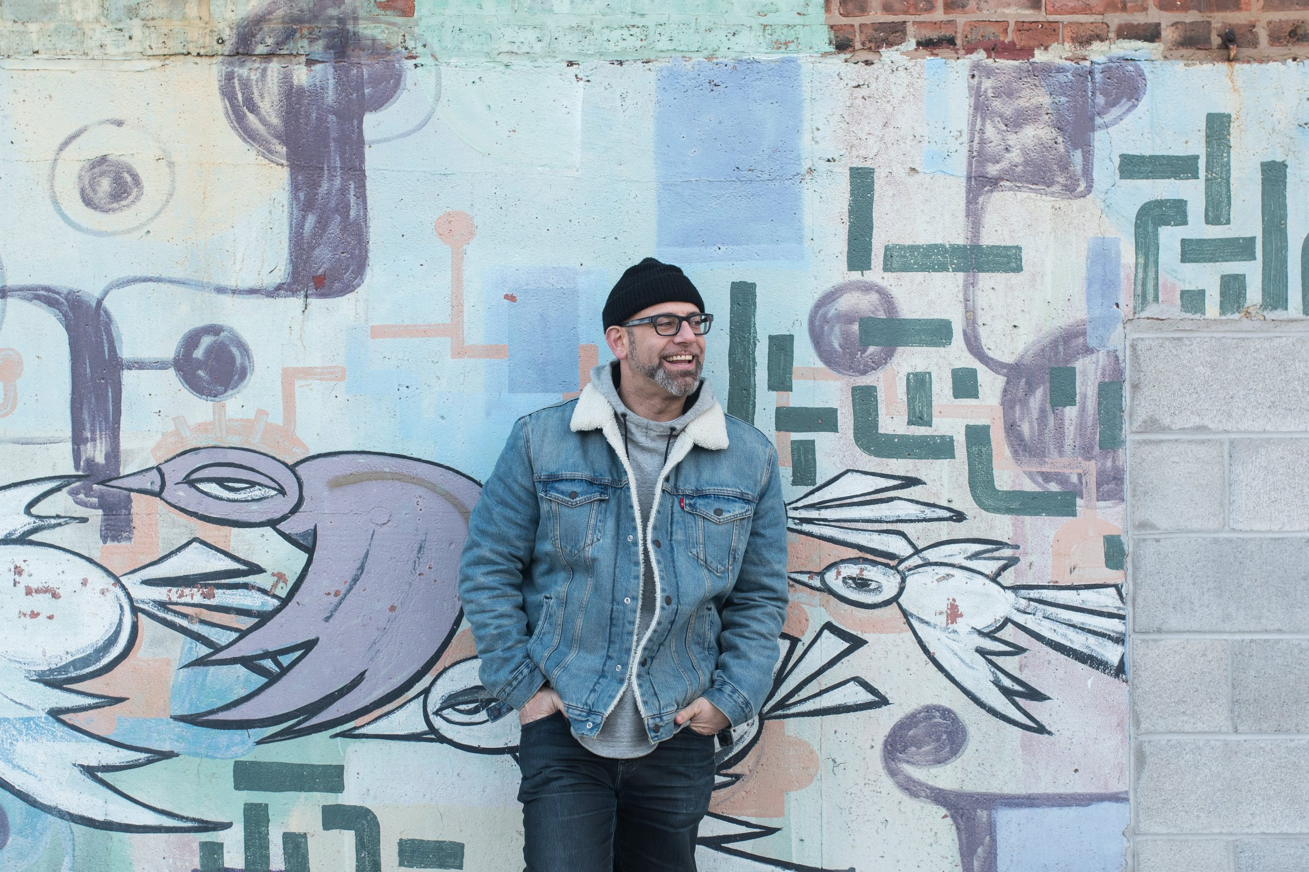 Poet and author Kevin Coval is one of two artists on the B side of <i>VFAC 004</i>, along with R&B singer Tasha.